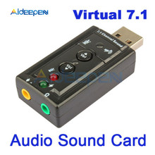 Mini USB 2.0 12Mbps Eksternal 7.1 Channel Audio Sound Card Adapter untuk PC Komputer Windows 2000/XP/ server/2003/VISTA/Linux/Mac(China)