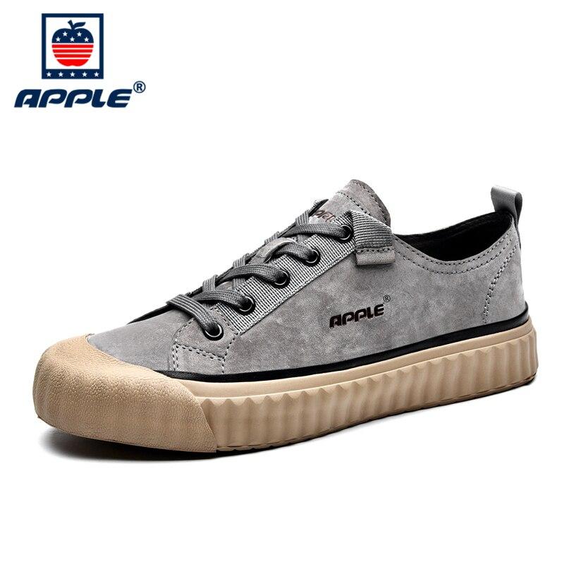 Купить бренд apple лидер продаж кожаная мужская обувь 2020 высококачественный
