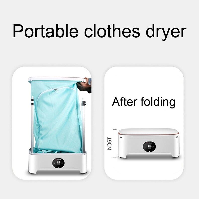 guarda-roupa infantil portátil máquina de secagem rápida