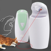 Pet Cat USB Electric Interactive Laser Toy Automatic Rotate Tease Dog Cats Intelligence Trainning Toys Pointer