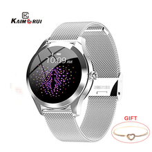KW10 IP68 Waterproof Smart Watch Women Heart Rate Tracker Sport Smartwatch Fitness Bracelet Connect Android IOS KW20 smartband