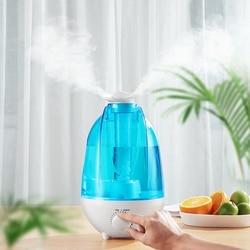 4L dużej pojemności nawilżacz powietrza mini ultradźwiękowy nawilżacz powietrza rozpylacz zapachów Mist Maker nawilżacz z funkcją oczyszczania powietrza 7 kolor LED Light|Nawilżacze powietrza|   -