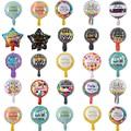25 шт./лот 10 дюймов Feliz Cumpleanos, испанские воздушные шары на день рождения, Круглый Гелиевый шар из майлара вечерние воздушные шары для вечеринк...