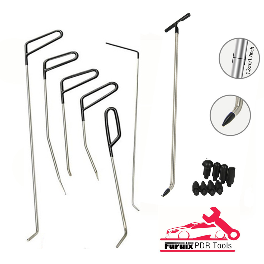 PDR DENT REPAIR TOOLS DENT REPAIR KIT  ROD HOOK C TAP DOWN PUSH HOOKS ОБРАТНЫЙ МОЛОТОК PDR  Ferramenta