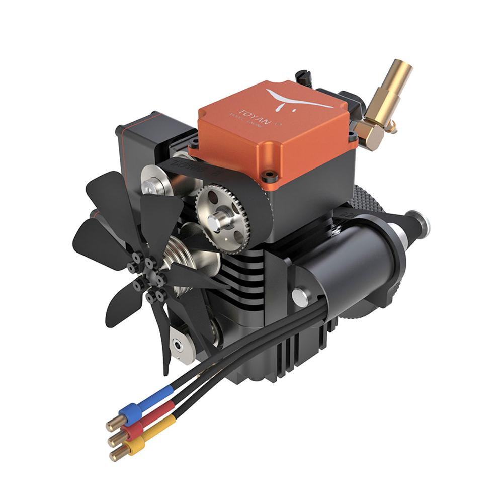 1Set Toyan Four Stroke Methanol Model Engine For 1:10 1:12 1:14 RC Car Boat Airplane - FS-S100A
