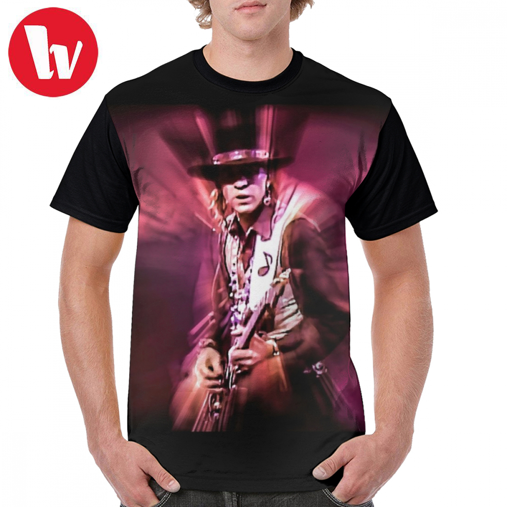 Stevie Ray Vaughan T Shirt Stevie Ray Vaughan - Crossfire T-Shirt Short Sleeves Basic Graphic Tee Shirt Graphic Fun 4xl Tshirt