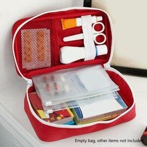 Image 2 - ชุดปฐมพยาบาลสำหรับยากลางแจ้งCamping Medicalกระเป๋าSurvivalกระเป๋าถือฉุกเฉินชุดชุดเดินทางแบบพกพา