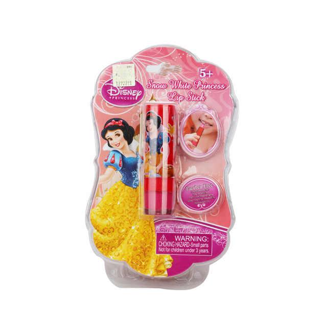 6 farben Disney Lippenstift Spielzeug Für Mädchen kinder Kosmetik Mädchen Sicher Nicht giftig Feuchtigkeits Lippenstift Baby Lip Gloss kinder Geschenke