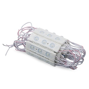 Image 2 - SZYOUMY High Voltage AC 220V 110V 3030 3 LEDs  Injection Module Lights With Lens High Power 200pcs by DHL