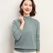 Кашемировый свитер Женская водолазка женская вязаная зимний