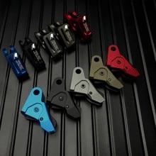 Glock acessórios peças cnc metal si gatilho para arma de brinquedo airsoft gbb gel blaster kublai p1 glock17 glock19 g26 g34 gen 1 2 3 4