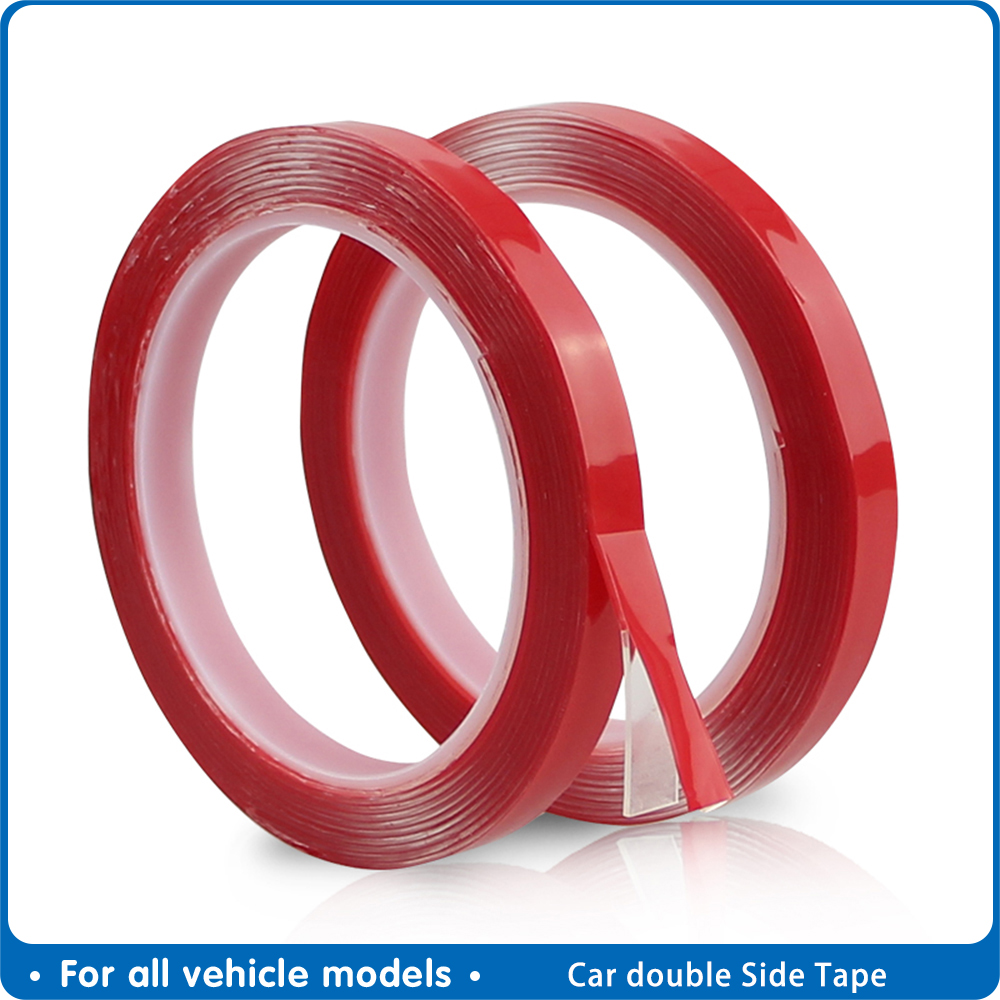 Car Special Double-sided Tape High Strength Transparent Glue No Traces Sticker Auto Double Face Tape adhesive 8/10/15/20 mm X 3m