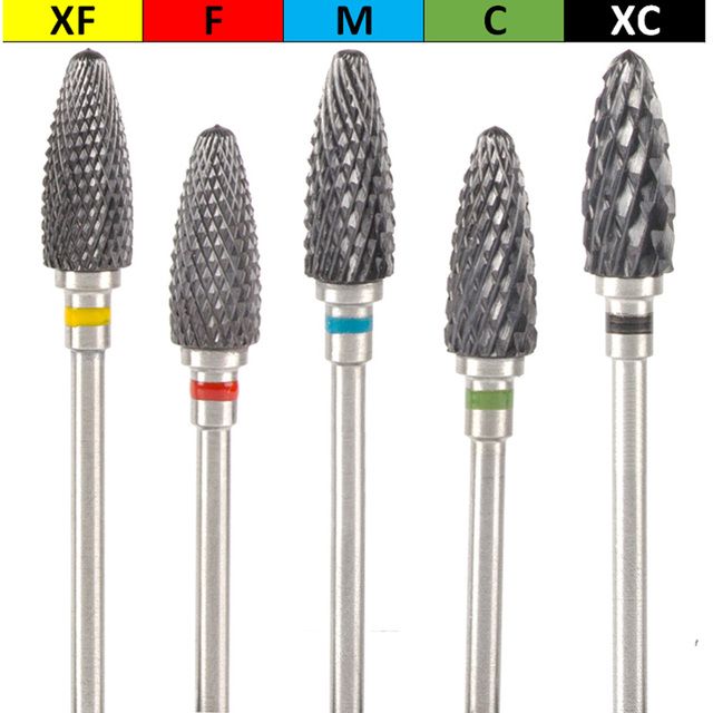 Milling Cutter For Manicure Tools Colorful Ceramic Nail Drill Bit Electric Rotary Nail Pedicure Manicure Machine Accessories 3