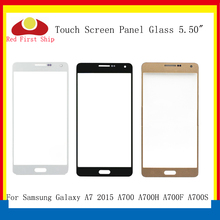 цена на 10Pcs/lot Touch Screen For Samsung Galaxy A7 2015 A700 A700H A700F Touch Panel Front Outer Glass Lens A7 Touchscreen LCD Glass