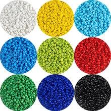 MH-perles de riz en verre Opaque, 200 pièces, perles amples, multicolore, 4mm, adaptées à la mode, accessoires bijoux à bricoler soi-même