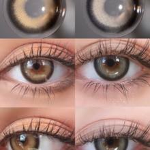 CherryCon Black Swan unique ring circle Contact Lenses Colored Soft for Eyes big beauty pupil Contact Lens Myopia prescription