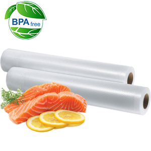 Image 2 - 5 Rolls / 1lot 12+15+20+25+28*500 cm Vacuum Sealer Bags Food Storage Bags for Vacuum Sealer Fresh Food Packing Packer