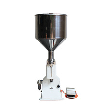 A02 Small Pneumatic Filling Machine of Liquid and Paste Stainless Steel Large Capacity