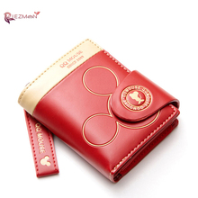 RIEZMAN Women Wallet Cartoon Cute Coin Purse Hasp Card Holder Famous Brand Womens Wallets And Purses Female Small