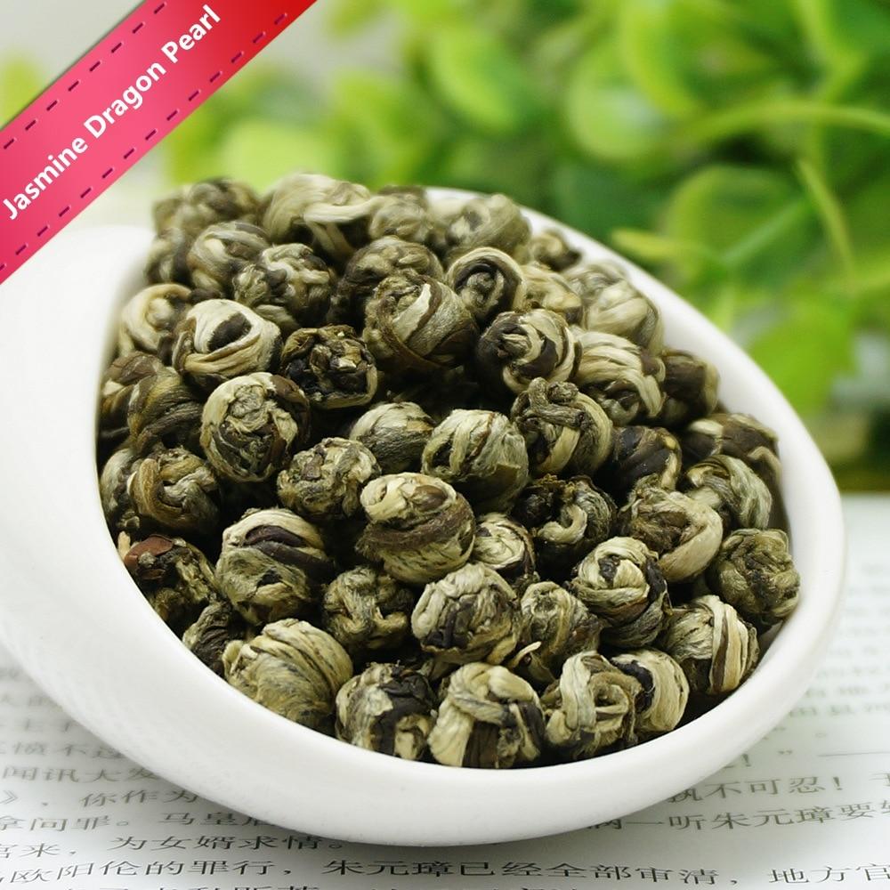 2020 Fresh Natural Organic Premium Chinese Jasmine Green Tea Jasmine Dragon Pearl Fragrance Slimming Flower Kung Fu Tea