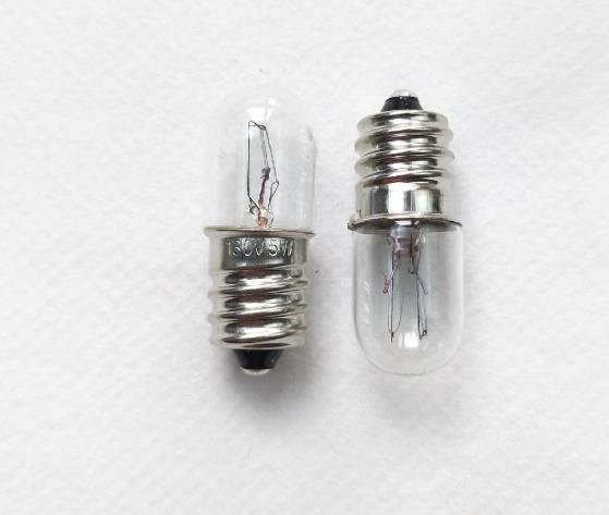 E12 110V 130V 5W Indicator Bulb