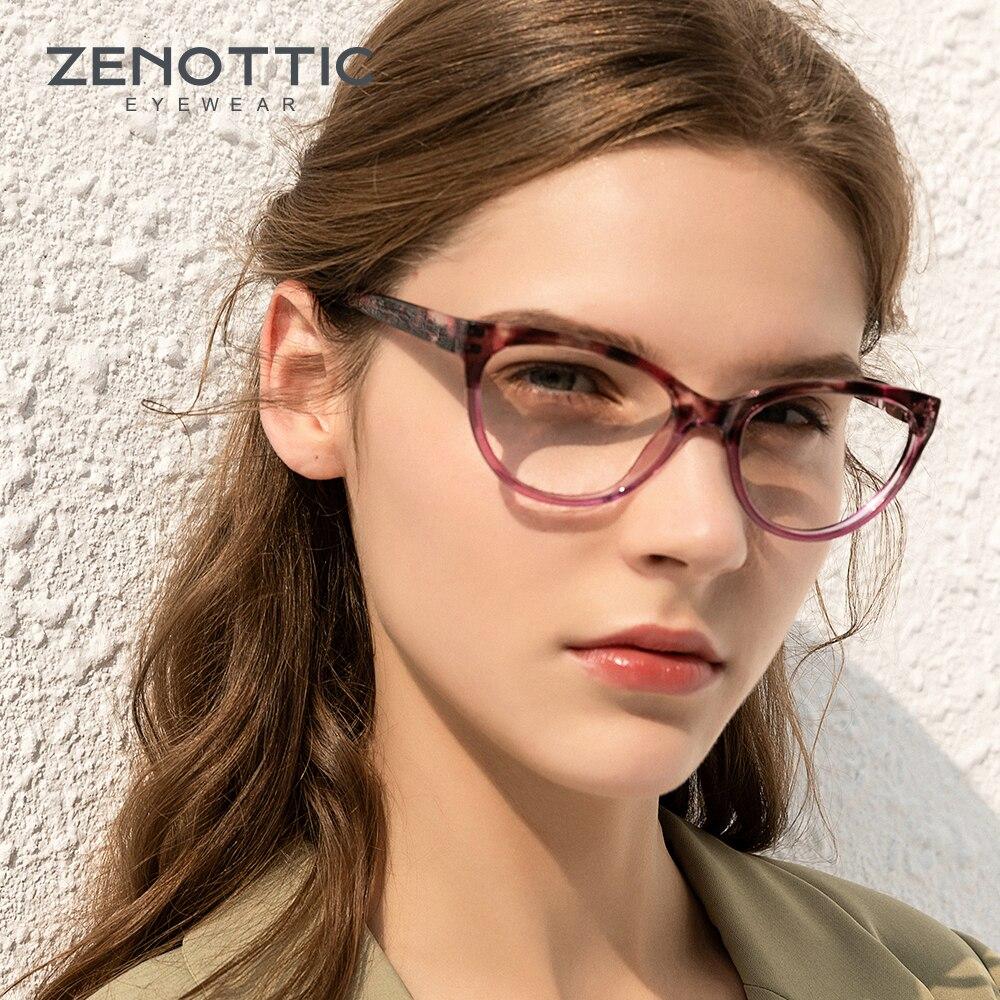 ZENOTTIC 20pcs Cat Eye Reading Glasses For Women Vintage Clear Lens Eye  Glasses Hyperopia 20 In 20 Package Reading Glasses Eyewear