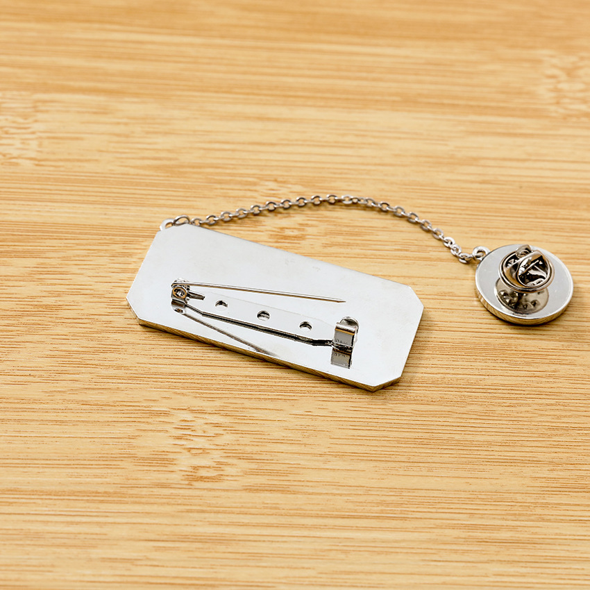 Image 4 - 7pcs/lot Kpop J HOPE suga RM Jimin V JungKook Jin world tour Japan edition metal chain pins brooch badge toy giftAction & Toy Figures   -
