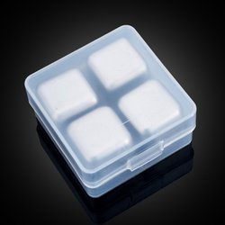 304 Stainless Steel Ice Cubes Reusable Chilling Stones For Whiskey Wine Keep Your Drink Cold Longer Sgs Test Pass
