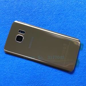 Image 4 - S7 Back Battery Cover Housing For Samsung Galaxy S7 Edge G935 G935F G935FD S7 G930 G930F G930FD Back Rear Glass Case
