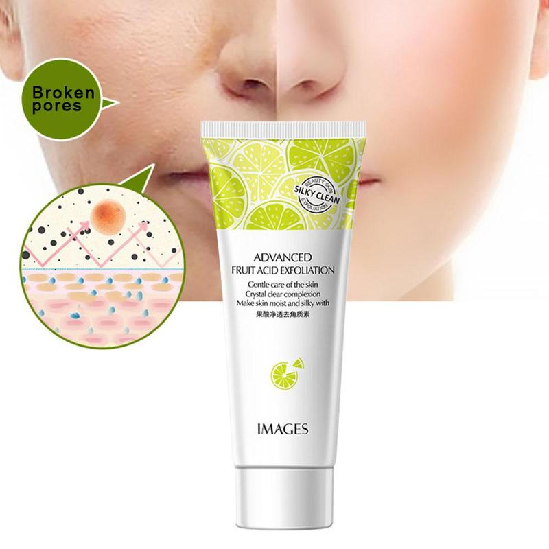 Nicotinamide Fruit Acid Deep Cleansing Exfoliating Peeling Gel Moisturizes Face Exfoliating Organic Facial Cream Scrub Cleaner