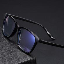 Tr90 круглый Анти синий светильник очки для женщин и мужчин