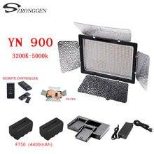 Yongnuo YN900 CRI 95 3200 5500K LED וידאו אור שליטה על ידי טלפון אפליקציה לחתונה צילום סטודיו למלא מנורת עבור איפור vlog