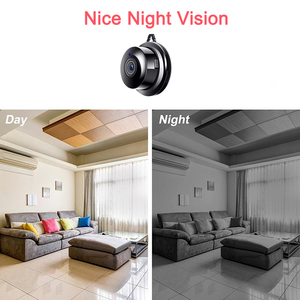 Image 3 - אלחוטי מיני IP מצלמה 1080P HD IR ראיית לילה Wifi מיקרו מצלמה אבטחת בית מעקבים wifi בייבי מוניטור מצלמה