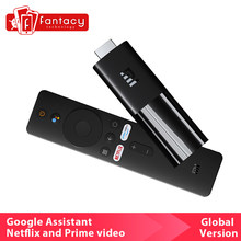 Globale Xiaomi TV-Stick HDMI-kompatibel Quad Core Dolby DTS HD Dekodierung 1GB RAM 8GB ROM Google assistent Netflix Android TV 9,0