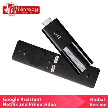 Global Xiaomi TV Stick HDMI 2.0 Quad Core Dolby DTS HD Dual Decoding 1GB RAM 8GB ROM Google Assistant Netflix Android TV 9.0