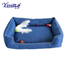Pet supplies Oxford cloth kennel waterproof kennel removable and washable kennel small and medium-sized dog pet kennel cat litte cartoon kennel pet supplies s m l size animal house circular cartoon dog kennel cat kennels all removable and washable dog mat