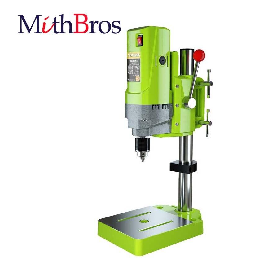 MithBros BG-5156E Bench Drill Stand 710W Mini Electric Bench Drilling Machine Drill Chuck 1-13mm Brill Press Bench