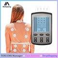 Десятки тысяч EMS блок физиотерапия шеи тела импульсный массажер 4 канала Электрический мышечный электростимулятор Стимуляция Машина здрав...