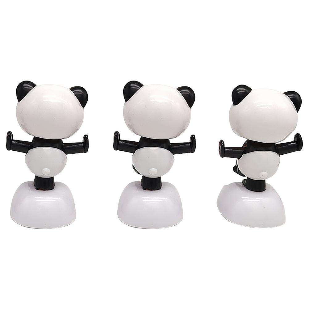 Solar energy shaking panda car decoration car accessories children/'s toy gifts
