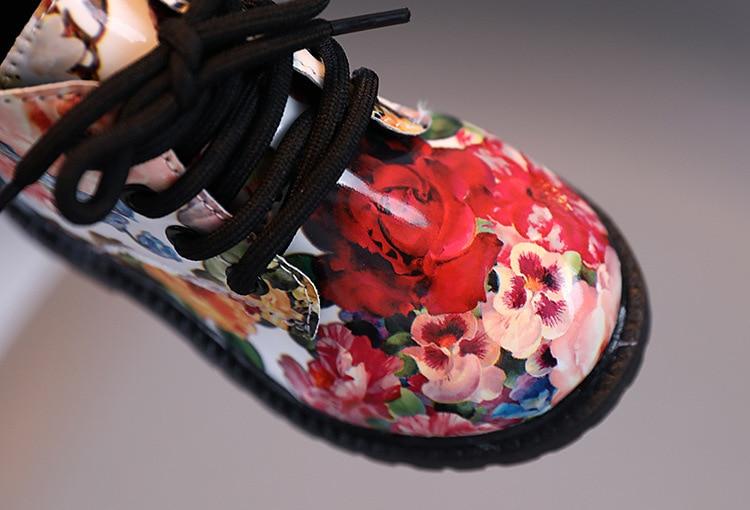 floral, para meninos e meninas, sapatos da moda, tamanhos 21-30, 2021
