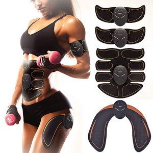 Muscle Stimulator EMS Smart Hip Trainer Wireless Buttock Abdomen Pad Arm Leg Toner Fitness Body Shaper Unisex Workout Equiment(China)