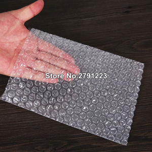 Image 3 - 50pcs New White Bubble Bags 30*35cm Transparent Paded Envelopes Wrap Air Bags Pouches Packaging PE Mailer Packing