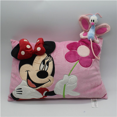 1piece 40*28cm Minnie Mouse Plush Toys Pillow Minnie Throw Pillow Cushion Birthday Stuffed Gift