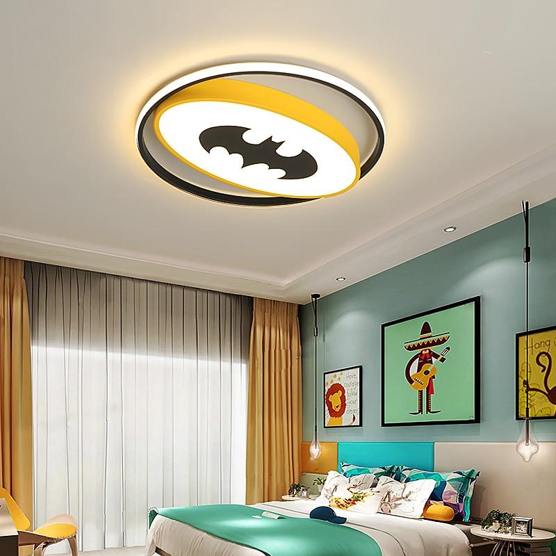 Bat Man Modern Led Ceiling Lights