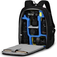 CADeN фотография сумка mochila fotografia DSLR камера сумки через плечо рюкзак для ноутбука Canon Nikon Путешествия противоударный объектив чехлы