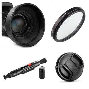 Image 1 - LimitX filtre UV + pare soleil + capuchon dobjectif + stylo de nettoyage pour Nikon CoolPix P950 P900 P900s Kodak PIXPRO AZ901 appareil photo numérique