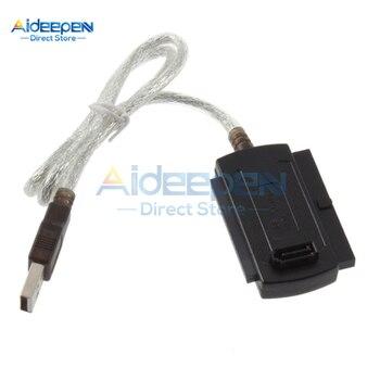 3 ב 1 USB 2.0 IDE SATA 5.25 S-ATA 2.5 3.5 Inch דיסק כונן הקשיח HDD מתאם כבל עבור מחשב נייד ממיר