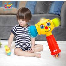 HOLA 3115 Baby Toys Toddler Play Hammer Toy with Music & Lights Electric Toys Improve Baby's Operation Ability 12 month+(China)