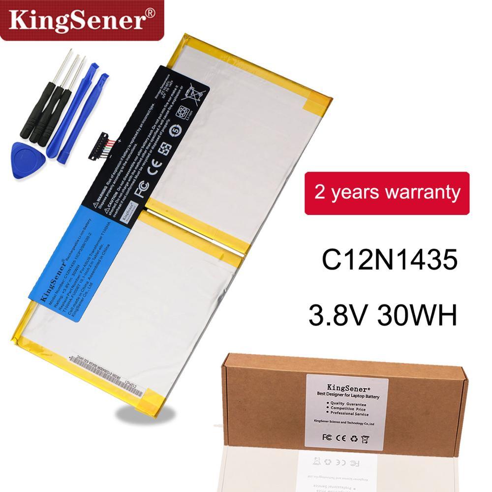KingSener New C12N1435 Laptop Battery For ASUS T100HA T100HA-FU006T 10.1-Inch 2 In 1 Touchscreen Tablet Battery 3.8V 30WH