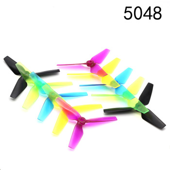 1Pair 5048 3 Blade 5 Inch CW CCW Propeller For RC Drone image